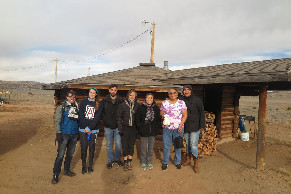 Indige Fewss Students Spring Break Immersion in Navajo Country